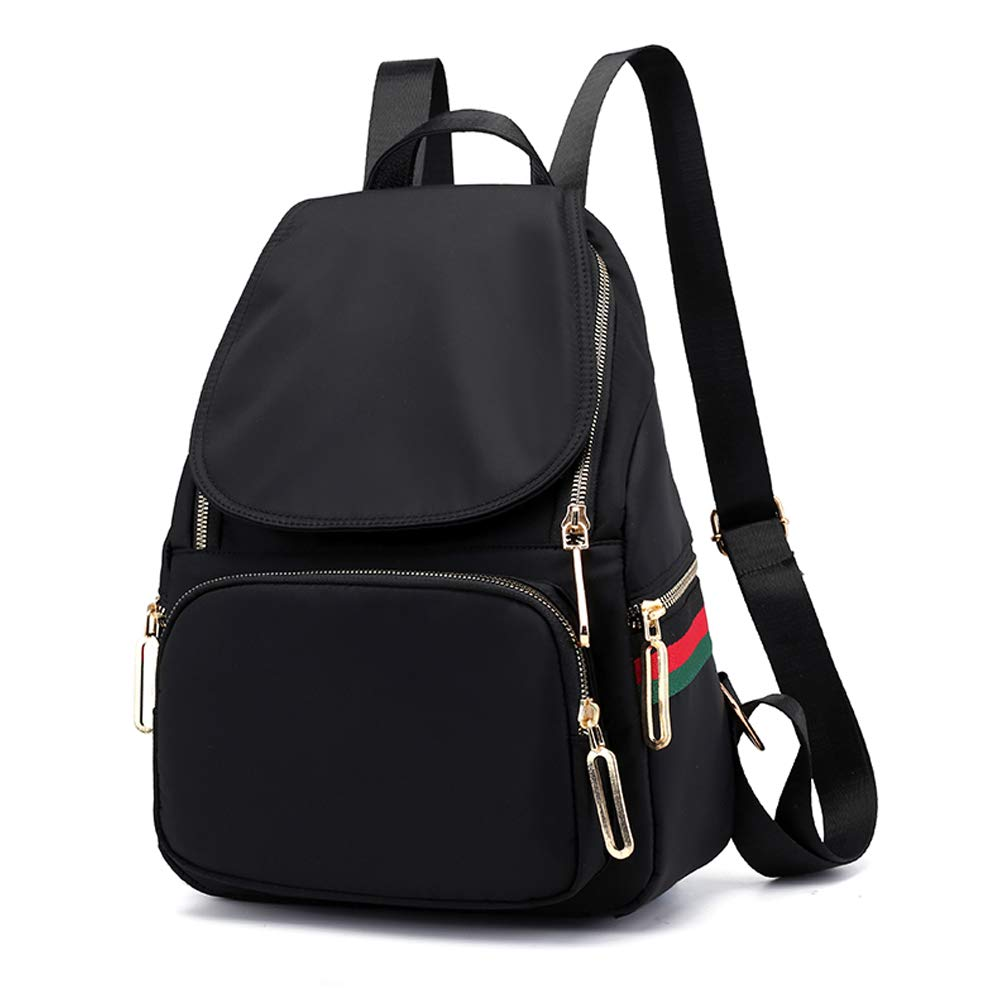 Women Backpack Purse Waterproof Nylon Anti-Theft Rucksack Lightweight Schoolbags Casual Travel Bag