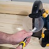 POWERTEC BG600 Bench Grinder, 6-Inch