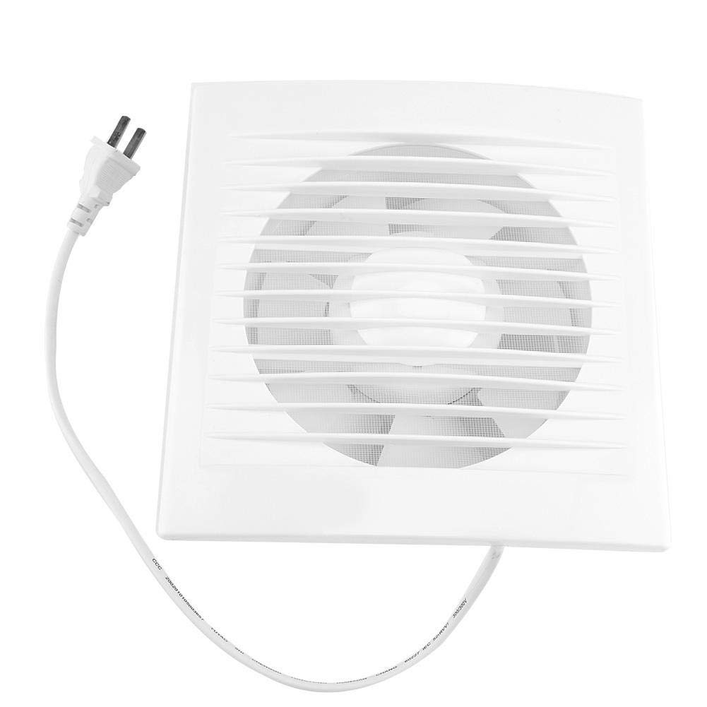 Acogedor 6 inch Wall Mounted Exhaust Fan 15W 220V Window Air Vent Ventilation Fan,Super Silent,Strong Exhaust,for Home Bathroom, Toilet, Kitchen, Garage and More
