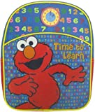 Sesame Street Elmo Backpack – Kid Size Elmo School Backpack – Time to Learn, Bags Central