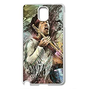 Custom Case Guitar player jimi hendrix poster phone Case Cove For Samsung Galaxy NOTE 3 Case JWH9217157