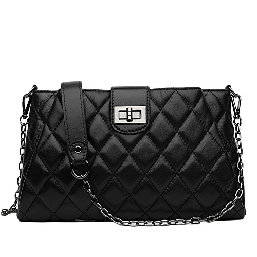 quilted black purse - 4