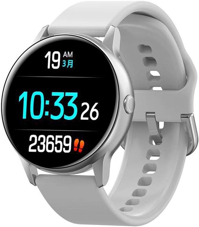 Lucky-all star Smartwatch, Intelligente Braccialetto Fitness Activity Tracker Sportivo Cardiofrequenzimetro da Polso Contapass Touch per Uomo Donna F