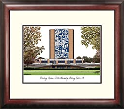 NCAA Indiana Hoosiers Alumnus Framed Lithograph