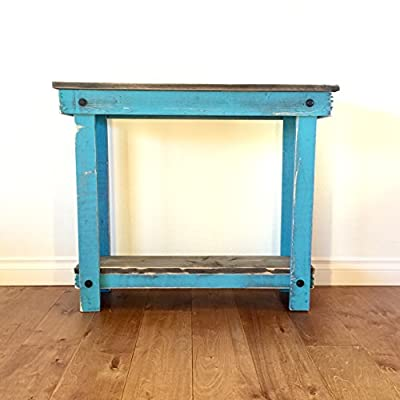 Rustic Handcrafted Reclaimed Console Table - Self Assembly