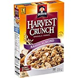 QUAKER HARVEST CRUNCH Raisin & Almond Flavour Granola Cereal, 510 g