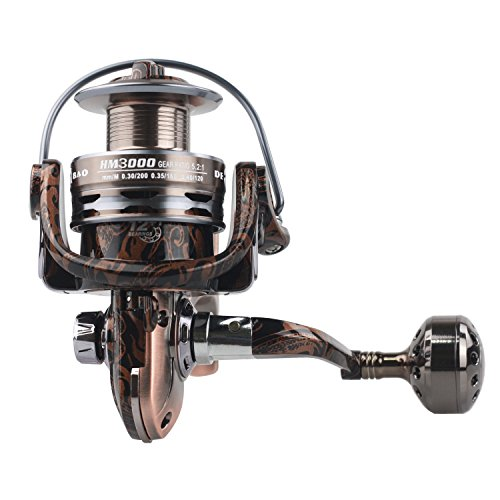 Modenpeak SR-HM3000 Spinning Reel for Corrosion Resistant Saltwater and Freshwater Fishing With Full Metal Body Review