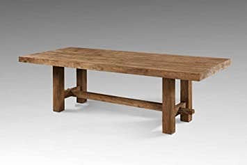Teakholz tisch massiv  Tisch Esstisch massiv Altholz recyceltes Teakholz Ashton Länge 250 ...