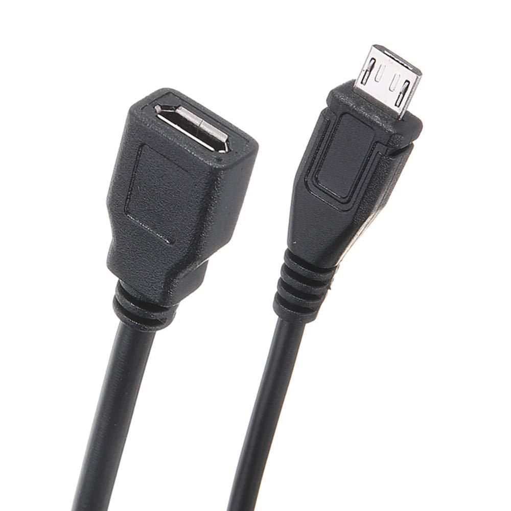 5 V//2,5 A Micro-USB-Buchse auf Stecker Verl/ängerungskabel mit An-//Aus-Schalter f/ür Raspberry Pi CODUSB Stromkabel mit Schalter An-//Aus-Taste f/ür Raspberry Pi