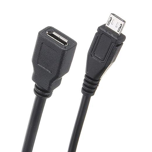 Cable de alimentaci/ón de 5 V//2,5 A micro USB hembra a macho con interruptor de encendido//apagado para Raspberry Pi CODUSB cable de alimentaci/ón con interruptor de encendido//apagado para Raspberry Pi