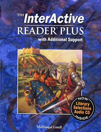 McDougal Littell Language of Literature: The Interactive Reader Plus with Additional Support with Audio-CD Grade 10