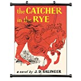 The Catcher in the Rye (J.D. Salinger) Fabric Wall Scroll Poster (32 x 46) Inches