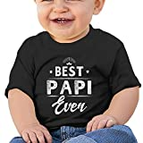 Best Papi Ever Baby Short-Slee