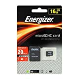 micro sd ad - Energizer Classic Carte mémoire microSD Class 10 16 Go avec Adaptateur