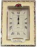 Clocks - 40th Anniversary Ruby Wedding Celebration Quartz Table Clock