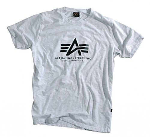 uomo 100501 fit Industries Basic kaki marrone da manica Alpha regular T corta shirt E8aEnUqv