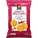 Quaker Rice Crisps, Sweet & Spicy Chili, 3.03 Ounce Bag (Packaging May Vary)