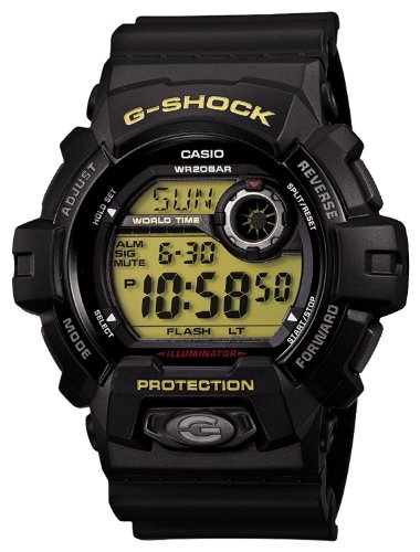 Casio G-shock Black and Green Standard Japanese Model #G8900-1 by Casio