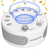 [2018 Upgraded] White Noise Sound Therapy Machine for Sleep,9 Natural Smoothing and Relaxing Sounds,Covers Noise for Improved Concentration and Relaxation,Perfect for Baby,Insomnia &Tinnitus Sufferers
