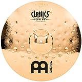 Meinl 17'' Crash Cymbal - Classics Custom Extreme Metal - Made in Germany, 2-YEAR WARRANTY (CC17EMC-B)