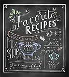Deluxe Recipe Binder - Favorite Recipes