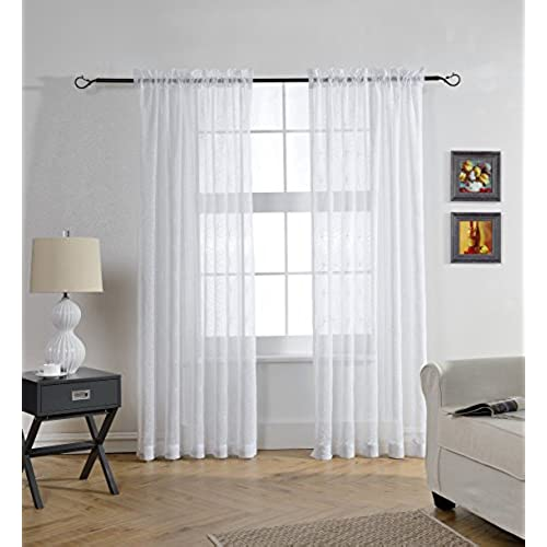 Sheer Curtains For Living Room Amazon Com