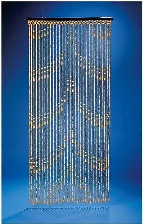 leguana cortina de cuentas de madera cortina para puerta dekovorhang samara