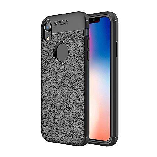 Price comparison product image Iphone Case Cover, Lovewe Flexible TPU Protective Case Cover for iPhone XR 6.1inch / iPhone Xs 5.8inch / iPhone Xs max 6.5inch (black,  XR 6.1inch)