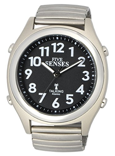 ATOMIC! Talking Watch - Sets Itself FIVE SENSES unisex Talking Watch (SENS-RCTK-P201-14)(M104)
