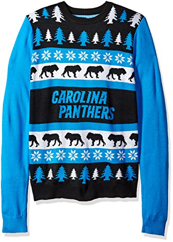 Carolina Panthers One Too Many Ugly Sweater Extra Large by FOCO