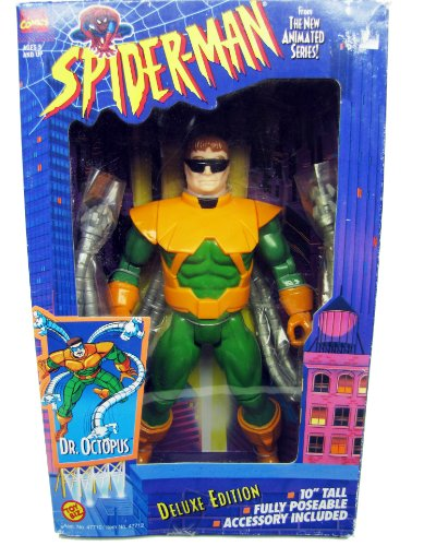 Doctor Octopus Toys - Spiderman Dr Octopus 10 inch action figure Deluxe
