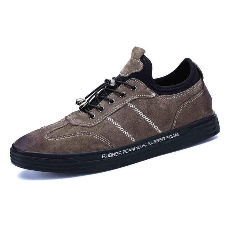 - Dsx Men's Winter Korean Version of the Trend Sports shoes Youth Plate shoes Black Khaki, brown, EU43 UK9 CN44
