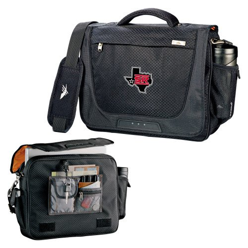Sul Ross High Sierra Black Upload Business Compu Case 'Primary Mark' by CollegeFanGear