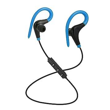 Mini Auriculares Inalambricos Bluetooth Demiawaking Auriculares Bluetooth AX-01 Inalámbrico Sport Auriculares Estéreo De Auriculares (Azul): Amazon.es: ...