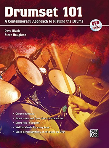 (Drumset 101: A Contemporary Approach to Playing the Drums (Book, CD & DVD) (101 Series) by Staff (2009-01-21))