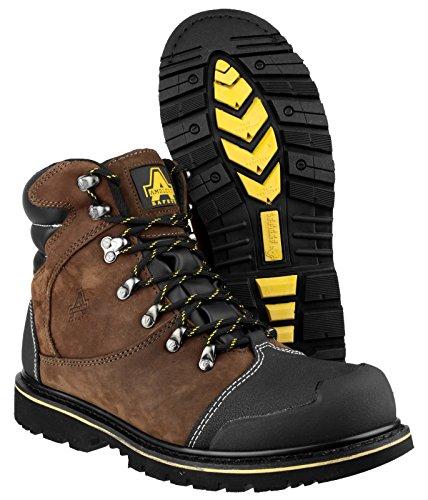 Chaussures Marron 5 42 Steel marron de Amblers homme sécurité pour qHaYw56