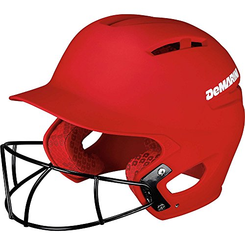 DeMarini Paradox Batting Helmet with Softball Protective Mask