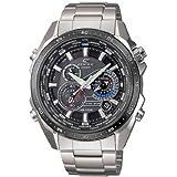 Casio Edifice – Reloj Hombre Analógico con Correa de Acero Macizo – EQS-500DB-1A1ER