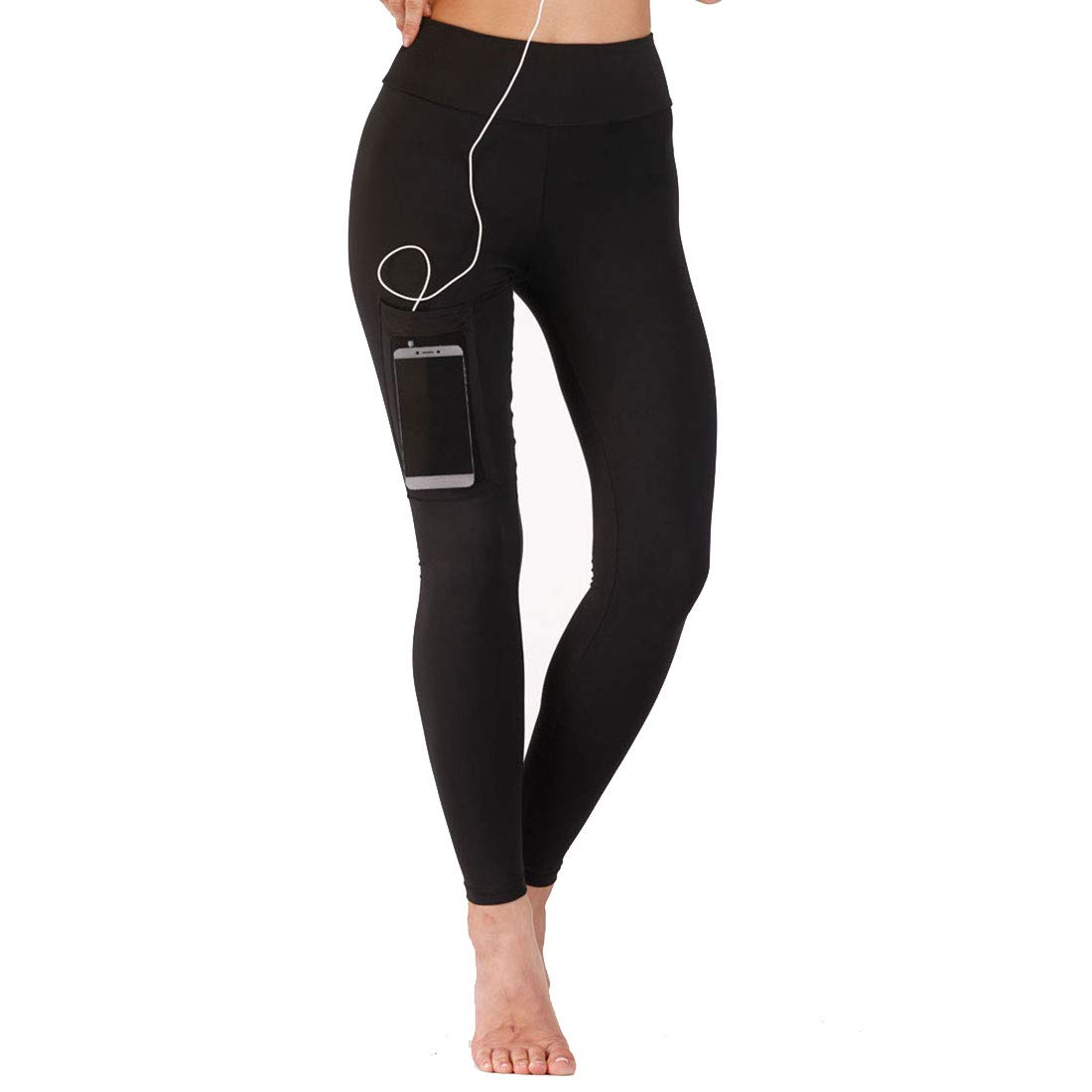 Huayue Yoga Pants Pocket Skinny QuickDrying Fitness Pants for Base Women
