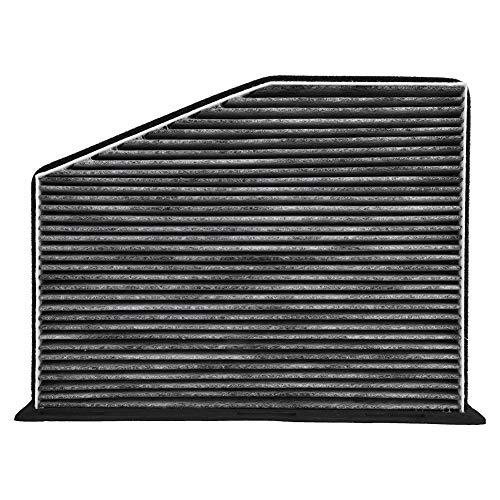Akozon Air Filter Car Cabin Air Filter Fiber cloth Intake Cleaner Filter Air Purifier for 1K1819653A: