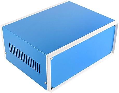 Caso de Shell carcasa de la caja de Proyectos electrónicos azul Junction: Amazon.es: Bricolaje y herramientas