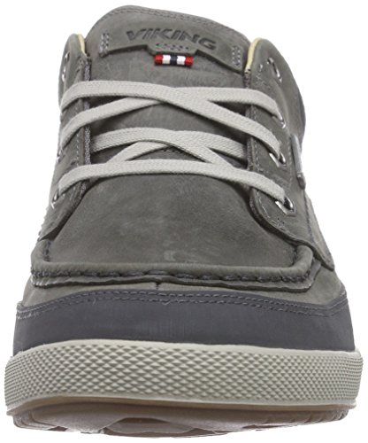 78 Viking Low Rugged Baskets Pewter GTX Gris Doublées Homme Grau Non rvr4gx