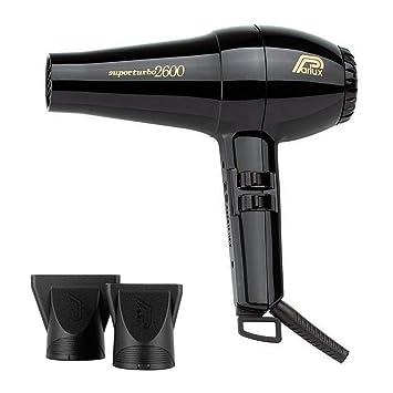 Parlux - Superturbo 2600 secador de pelo negro: Amazon.es: Salud y cuidado personal