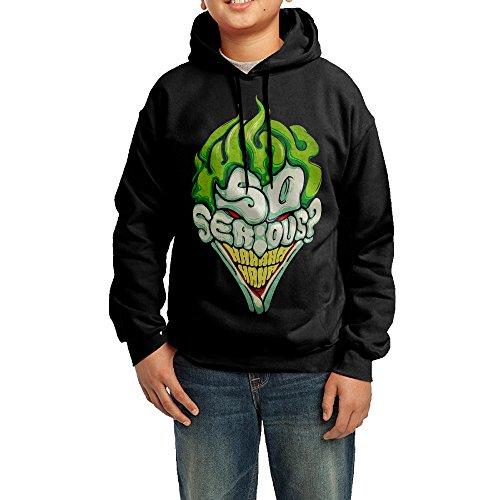 Unisex Youth Joker No Man's Land Casual Hoodies