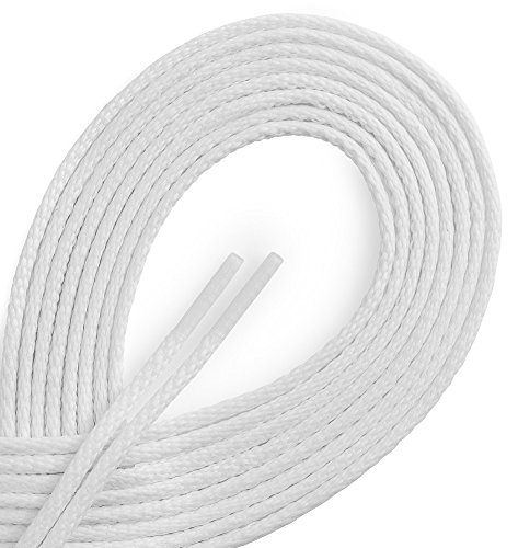 OrthoStep Waxed Dress Round Shoelaces