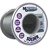 "MG Chemicals 63/37 Rosin Core Leaded Solder, 0.032"" Diameter, 1 lb Spool,"