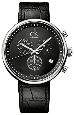 Calvin Klein Watches K2N271C1 BLACK BLACK