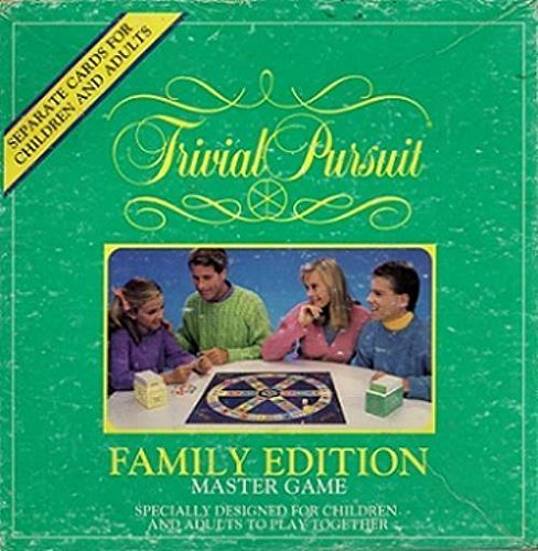 Trivial Pursuit Family Edition Master Game