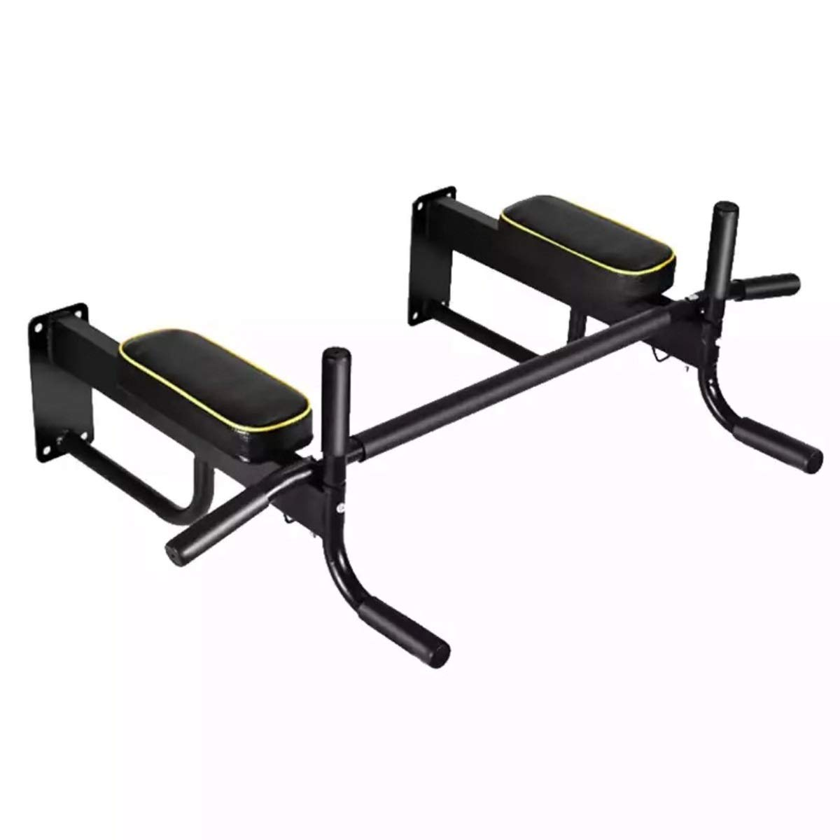 Pull Up Wall Horizontal Bar Household Wall-Mounted Horizontal Bar Wall Horizontal Bar Pull-up Fitness Equipment Spine Stretcher Punch Single Parallel Bars Wall Single Parallel Bars by Baianju