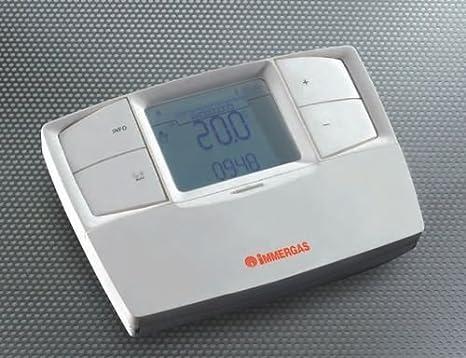 Immergas - Mando a distancia regulador de calefacción, modelo V23.021395